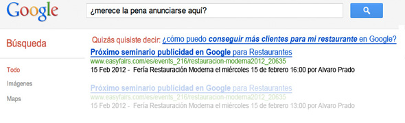 Cómo conseguir clientes para tu restaurante con publicidad en Google