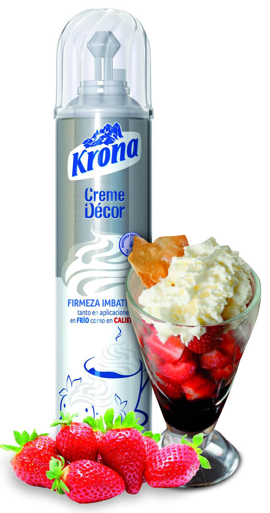 Tiempo de fresas con nata barra de ideas - Nata liquida para postres ...