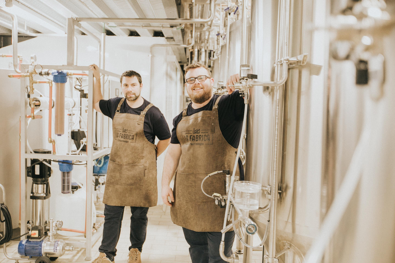 Jorge Varela y Juan Navarro, maestros cerveceros