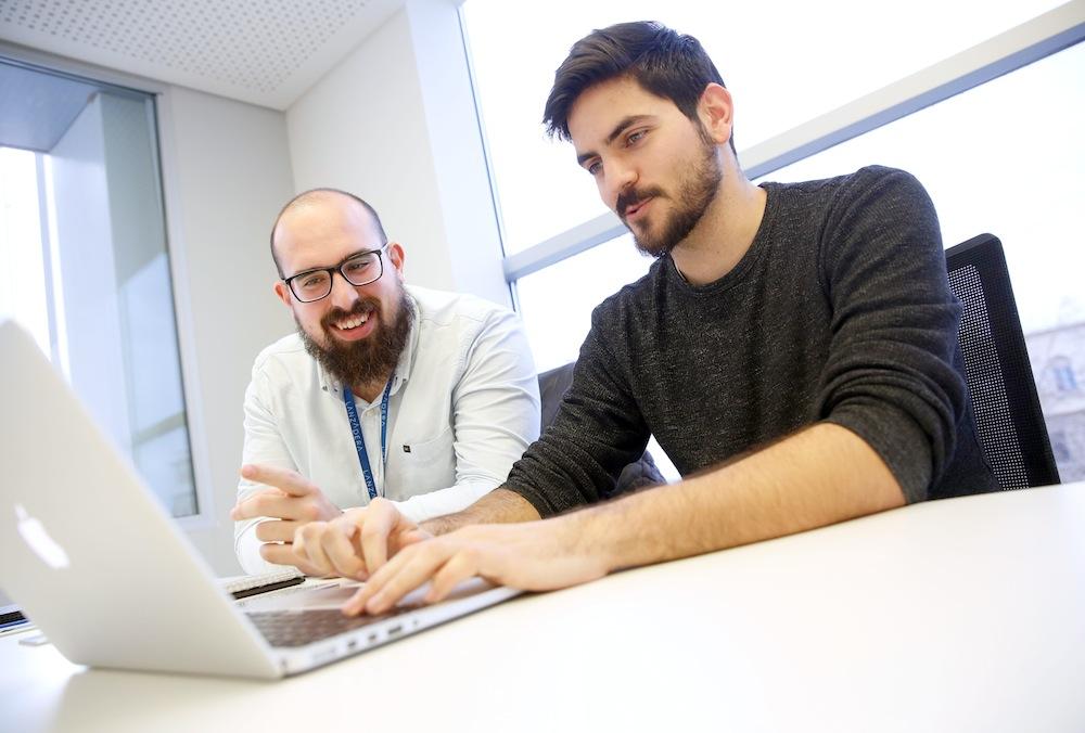 Carles Montrull y Mariano García, cofundadores de Barissta