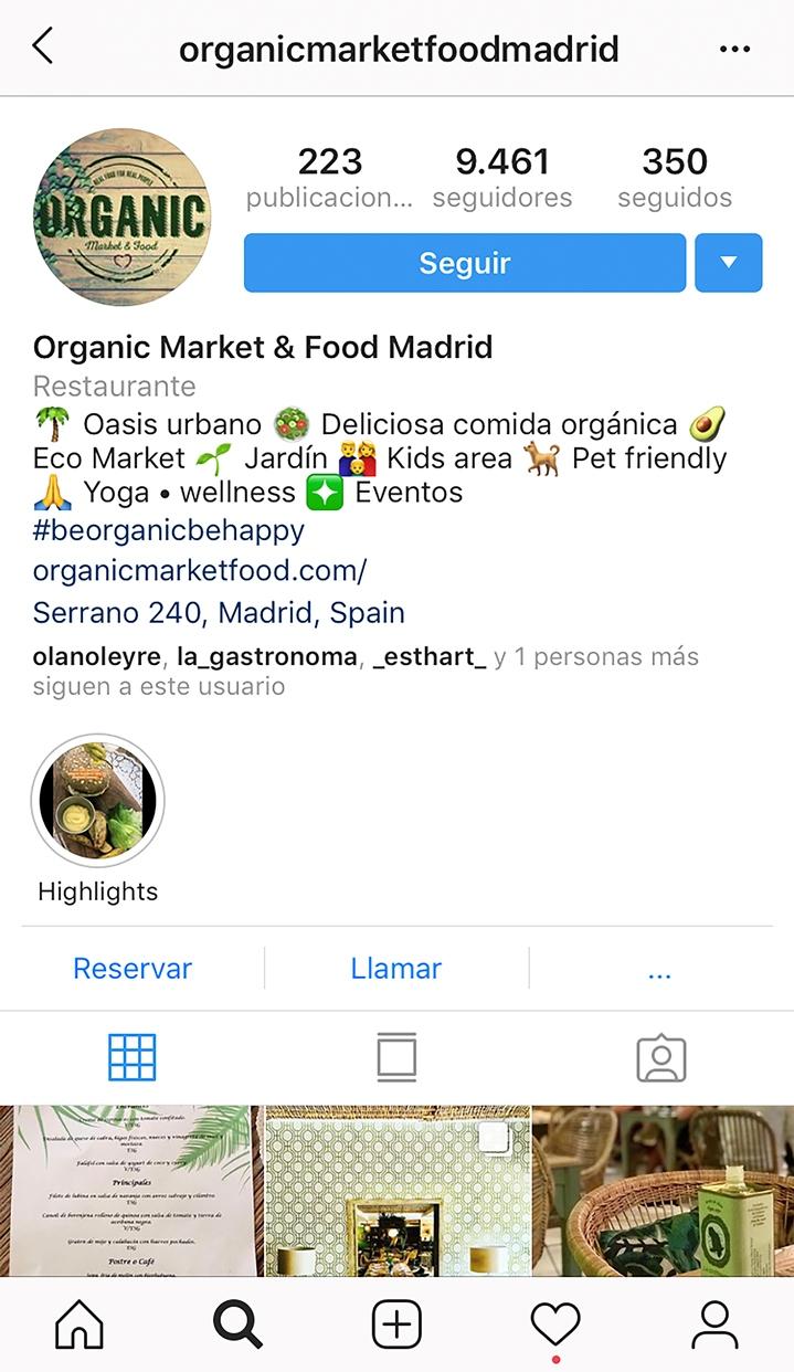 instagram y eltenedor se unen