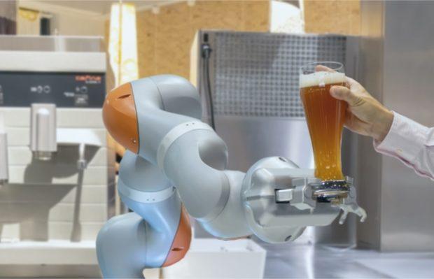 robots en restaurantes