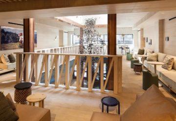 Lobby del moxy hotel NYC