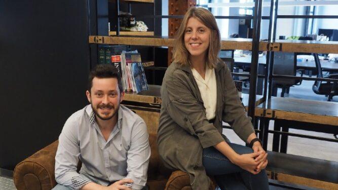 José Luis y Marta, socios de Kilimanjaria